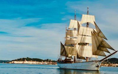 Le Français in porto di Saint-Tropez