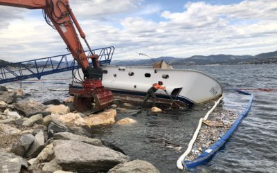 Removal of shipwreck M/Y Ipsum