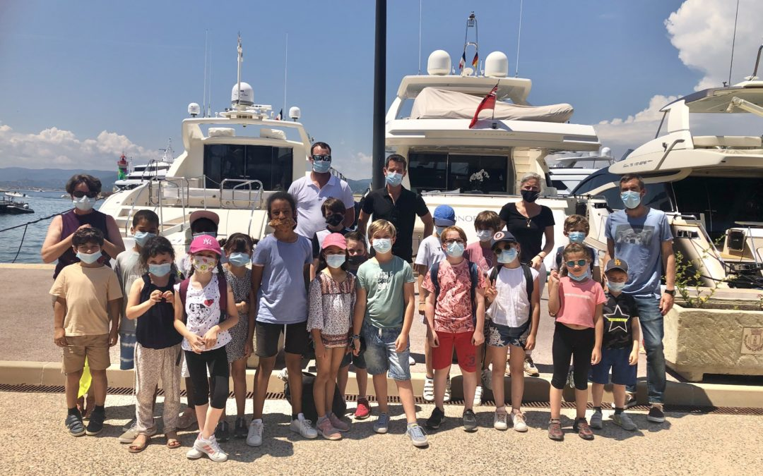Discovery of the Port with the children