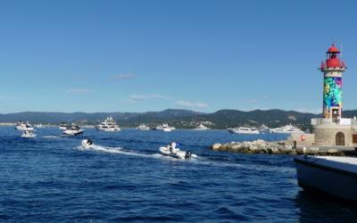 Service de collecte des déchets pour les bateaux au mouillage